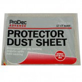 Prodec Poly Backed 12'x9' Dust Sheet Carpet Protector - Product code: NQ3105H