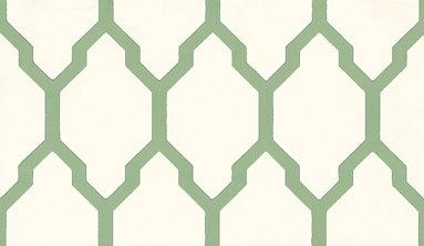 Farrow & Ball Tessella Green Wallpaper main image