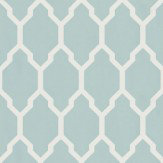 Farrow & Ball Tessella Aqua Wallpaper - Product code: BP 3605