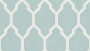 Farrow & Ball Tessella Aqua Wallpaper main image