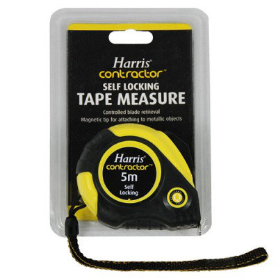 Harris Contractor Tape Measure 5m