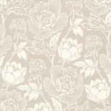 Farrow & Ball Peony White / Taupe Wallpaper - Product code: BP 2302