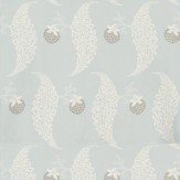 Farrow & Ball Rosslyn White / Sky Blue Wallpaper