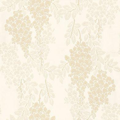 Farrow & Ball Wisteria Light Beige / Grey / Cream Wallpaper - Product code: BP 2204