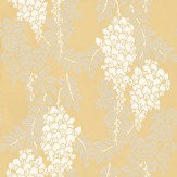 Farrow & Ball Wisteria White / Grey / Yellow Wallpaper - Product code: BP 2212