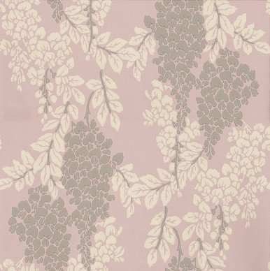 Wisteria By Farrow Ball Rose Pink Wallpaper Direct