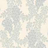 Farrow & Ball Wisteria Pastel Blue / Green / Cream Wallpaper - Product code: BP 2217