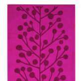 Berry Tree Cerise Hand Towel