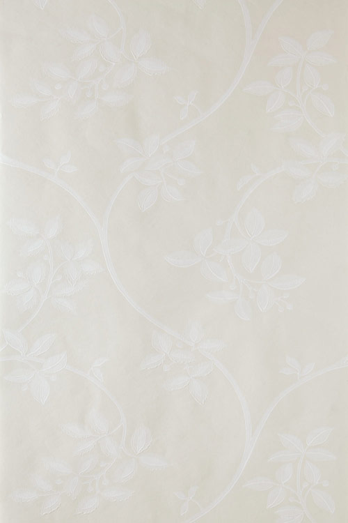Ringwold Wallpaper - White / Cream - by Farrow & Ball