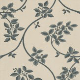 Farrow & Ball Ringwold Charcoal / Soft Beige Wallpaper