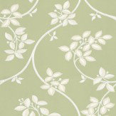 Farrow & Ball Ringwold White / Green Wallpaper