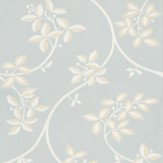 Farrow & Ball Ringwold White / Blue Wallpaper