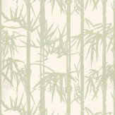 Farrow & Ball Bamboo Green / Cream Wallpaper - Product code: BP 2139