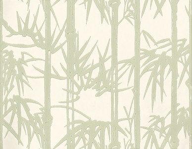 Farrow & Ball Bamboo Green / Cream Wallpaper - Product code: BP 2139