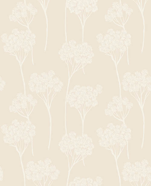 Clarke & Clarke Cowslip Natural Wallpaper main image
