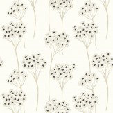 Clarke & Clarke Cowslip Charcoal Wallpaper