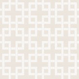 Clarke & Clarke Lattice Natural Wallpaper