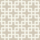 Clarke & Clarke Lattice Parchment Wallpaper