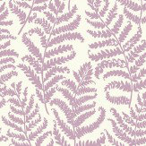 Clarke & Clarke Wild Fern Heather Wallpaper