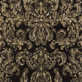 Zoffany Brocatello Briolette Bronze / Black Wallpaper - Product code: 310988