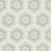 Zoffany Spark Blue / Silver Wallpaper - Product code: 310993