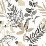 Clarke & Clarke Woodland Charcoal Wallpaper