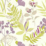 Clarke & Clarke Woodland Heather Wallpaper