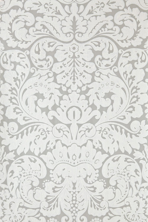 Farrow & Ball Silvergate White / Grey Wallpaper - Product code: BP 852