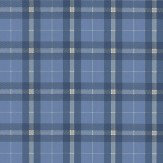 Thibaut Winslow Plaid Blue Wallpaper