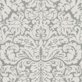 Farrow & Ball Silvergate Grey Wallpaper