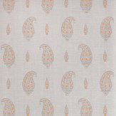 Thibaut Maduri Grey / Orange Wallpaper