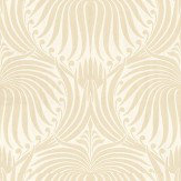Farrow & Ball Lotus Cream / White Wallpaper