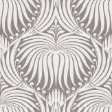 Farrow & Ball Lotus Off White / Purple Wallpaper - Product code: BP 2062