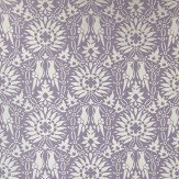 Farrow & Ball Renaissance Metallic Silver / Purple Wallpaper - Product code: BP 2809