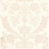 Farrow & Ball St Antoine Pale Pink / Off White Wallpaper