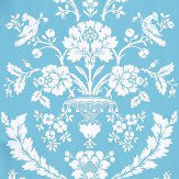 Farrow & Ball St Antoine White / Blue Wallpaper