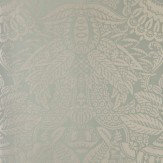 Farrow & Ball Orangerie Metallic Gilver / Sage Wallpaper