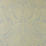 Farrow & Ball Orangerie Dark Yellow / Sage Wallpaper