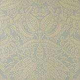 Farrow & Ball Orangerie Dark Yellow / Sage Wallpaper - Product code: BP 2514