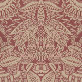 Farrow & Ball Orangerie Beige / Red Wallpaper