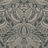 Farrow & Ball Orangerie Brown / Charcoal Wallpaper