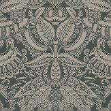 Farrow & Ball Orangerie Brown / Charcoal Wallpaper - Product code: BP 2503