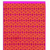 Scion Lace Cerise Guest Towel