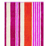 Block Stripe Cerise Guest Towel