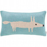 Mr Fox Lagoon Knitted Cushion