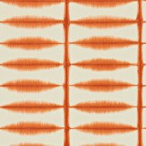 Scion Shibori Orange Wallpaper
