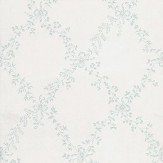 Farrow & Ball Toile Trellis Duck Egg / Off White  Wallpaper