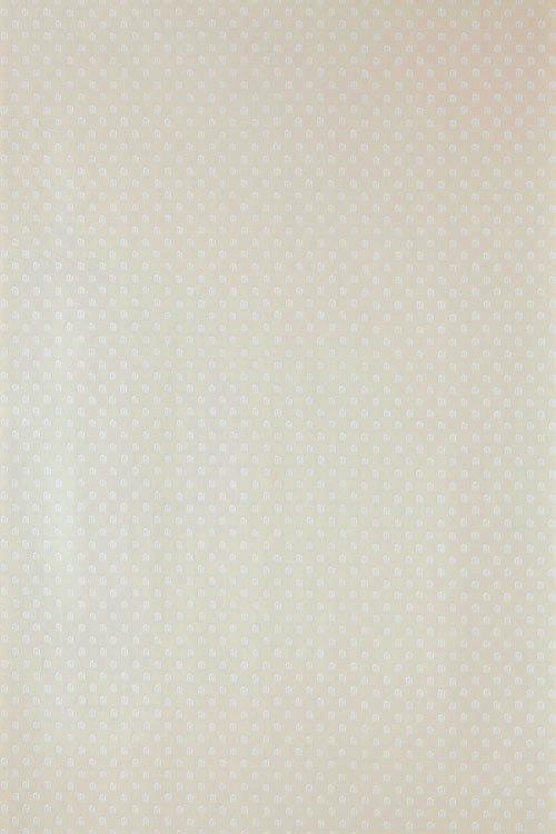 Farrow & Ball Polka Square White / Cream Wallpaper - Product code: BP 1050
