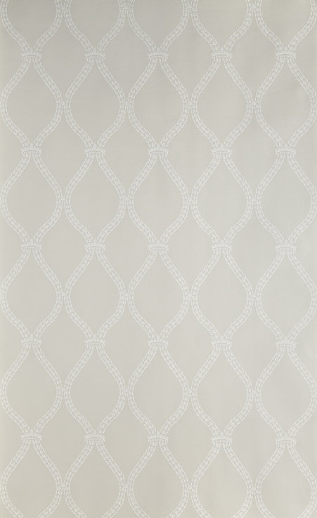 Crivelli Trellis Wallpaper - Purple / Lilac - by Farrow & Ball