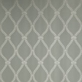 Farrow & Ball Crivelli Trellis Dark Duck Egg Green Wallpaper - Product code: BP 3107